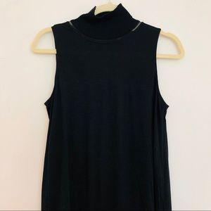 Rag & Bone Turtleneck Sleeveless Dress